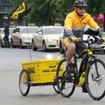Hamburgban a sárga angyal is villanybringán érkezik