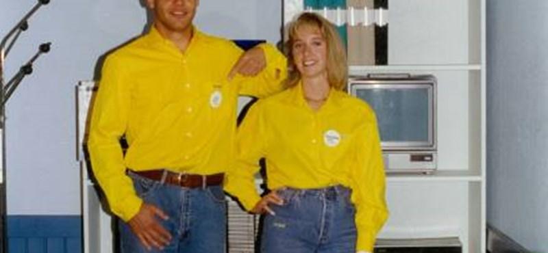Ekkora őrület volt az 1990-es budapesti IKEA-megnyitón – videó