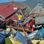Drámai drónvideók mutatják a cunami pusztítását Sulawesin