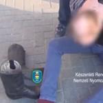 Az utcán teperték le a 11 éves kislánnyal fajtalankodó férfit a rendőrök – videó