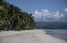 """""""Túl kicsi"""" bikini miatt tartóztattak le egy turistát a Fülöp-szigeteken"""