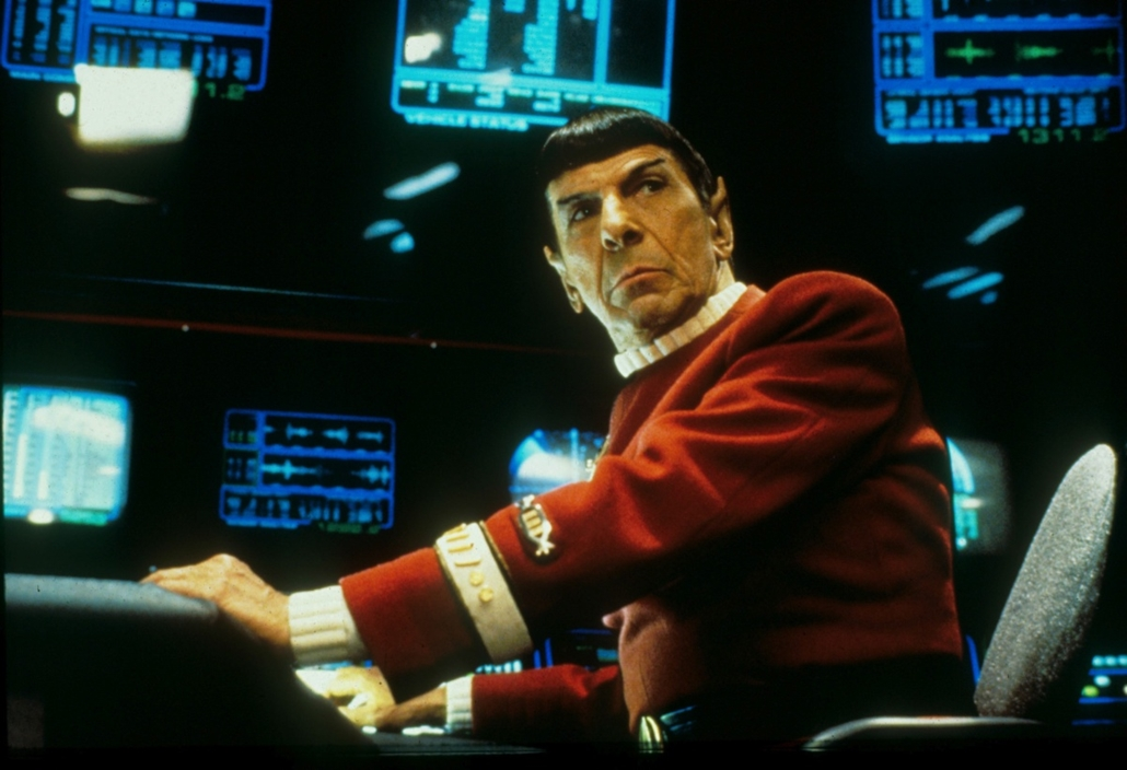 afp.1991. - Star Trek - Leonard Nimoy (Spock kapitány)