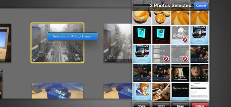 Így törölhetünk képeket egyesével a Photostream szolgáltatásból!