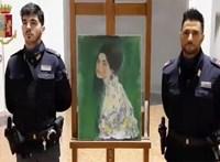Előkerült egy ellopott Klimt-festmény