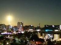 Videó: Felrobbant egy meteor Ausztrália felett