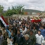Szíria: nyolcvan rendőr megöléséről adott hírt az állami televízió