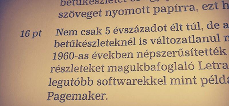 Töltse le: itt a magyar betűtípus, amellyel sok pénzt megspórolhat