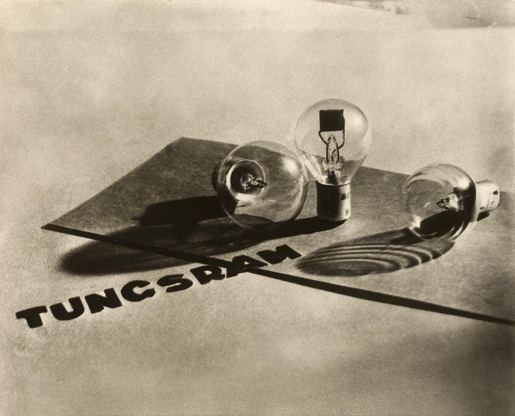Tungsram reklám, 1930, olajnyomat - Magyar sorsok és életművek - Nagyítás-fotógaléria, kiállítás
