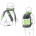 Légtisztító hátizsákot talált ki egy holland diák – fotó