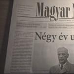 Megjelent a Magyar Nemzet, és megtagadta az elmúlt négy évét
