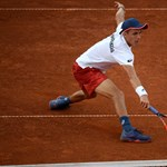 Bravúros győzelmet aratott a magyar tenisz tehetsége, Piros Zsombor