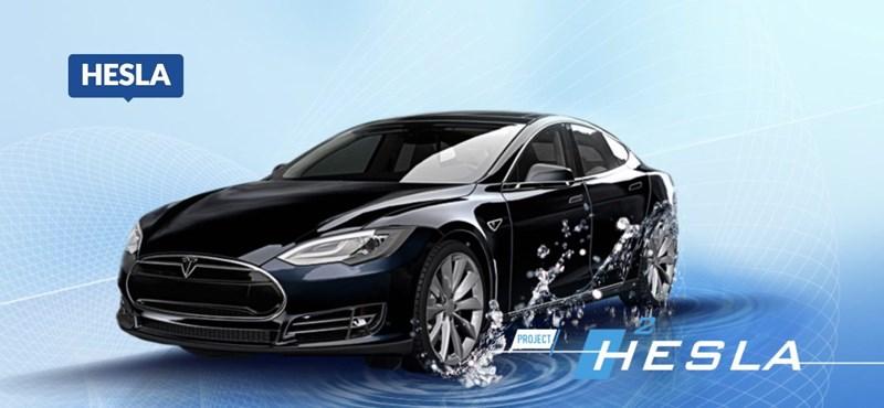 Íme Hesla, az első hidrogénes Tesla