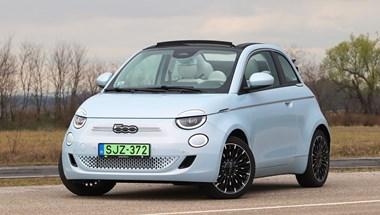 Villanykabrió: teszten a teljesen új és olaszosan cuki elektromos Fiat 500