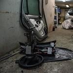 Zugbontó Óbudán: egy garázsban tüntettek el lopott autókat – videó