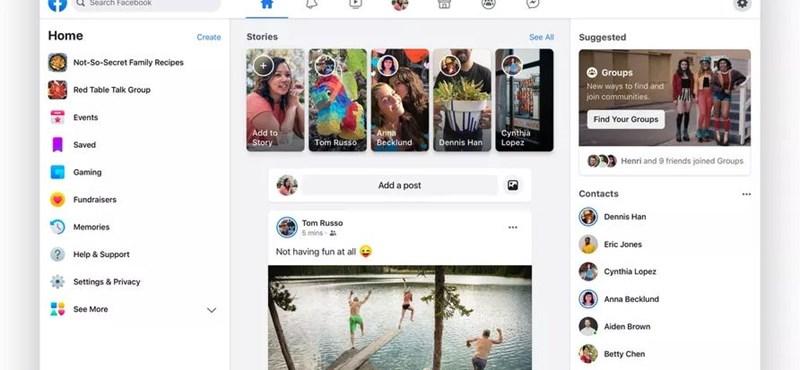 Ha akarja, ha nem, szeptembertől önnél is az új kinézetre vált a Facebook