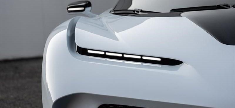 Vissza és egyben előre is repít az időben a Bugatti új hiperautója