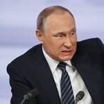 Putyin már új fegyverkezési versenyt vizionál Amerikával