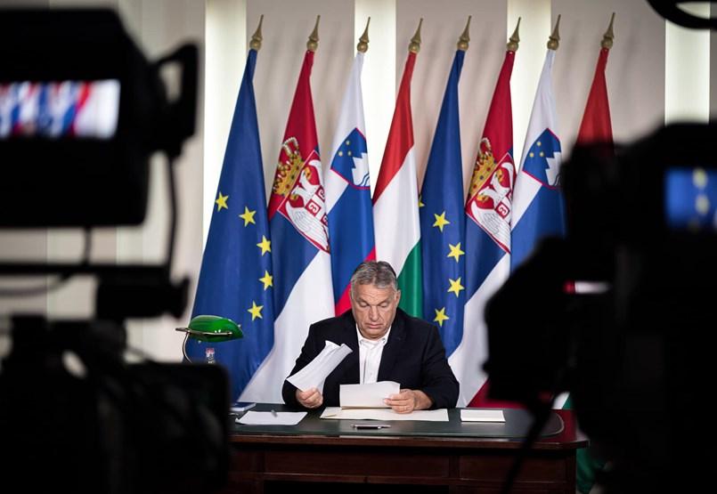 Orbán Viktor: Európa leszállóágban van
