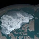 Aggasztóan vékony az Északi-sark téli jégtakarója