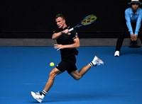 Australian Open: Federert kellene vernie Fucsovicsnak a nyolcaddöntőben