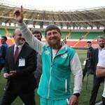Szalah Csecsenföld tiszteletbeli állampolgára lett