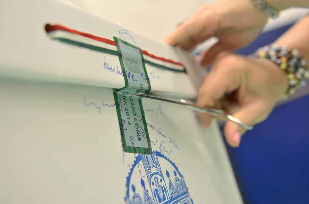 faz. választás 2014, önkormányzati választások 2014.10.12. Budapest, urnabontás