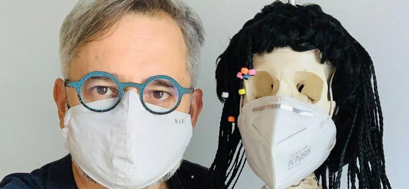 Barabási Albert-László a járványról: Felégettük azt az egészségi tőkét, amelyért tavasszal megdolgoztunk