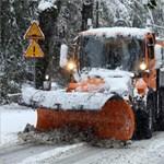 Szlovákiában leesett az első hó