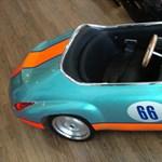 Elektromos játékautó a gyereknek egy 3-as BMW árából - fotó