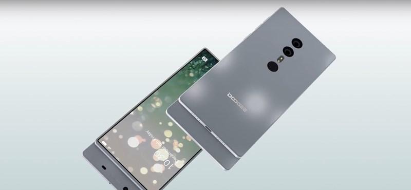 """Ilyen telefont talán még nem látott: egy kis kínai gyártó fillérekből elkerülte a 380 ezres iPhone X """"hibáját""""?"""