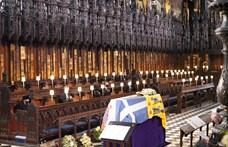 Fülöp herceg temetése képekben