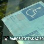 Rabosították, mert mozgássérült helyre parkolt beteg gyermeke kártyájával