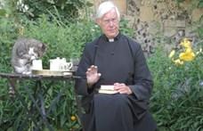 Egy cica trollkodta meg a pap online szentbeszédét