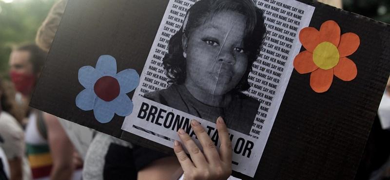 Kártérítést kap a rendőri intézkedés közben lelőtt Breonna Taylor családja