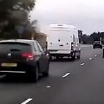 Két kilométeres dugulás van az M5-ösön