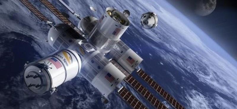 Itt a világ első űrhotele