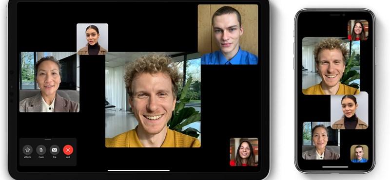 Jön az új FaceTime, az androidosok és a Windows 10-felhasználók is használhatják
