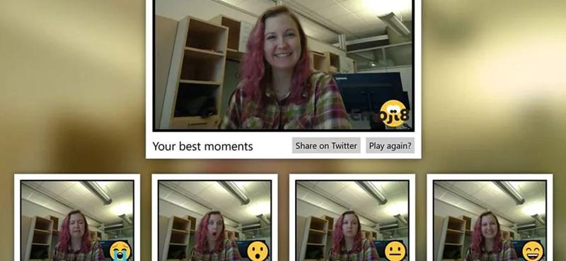 Ön mennyire jól tudja utánozni a :D vagy a :O hangulatjeleket? A Microsoft ingyenes játéka megmutatja