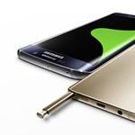 Két óriástelefont mutatott be a Samsung, itt a Galaxy Note5 és az S6 edge+