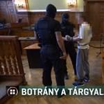 Fenyegetőzés és bekiabálás: botrányos közjátékok a Teréz körúti robbantó tárgyalásán