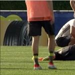 Megsérült edzés közben Rüdiger, nem tud menni az Eb-re – videó