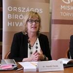 A vizsgálódó nemzetközi szervezet Handó Tündét bírálta