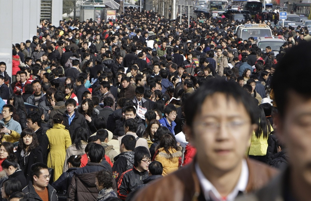7 milliárd ember - nagyítás - népcsoport, tömeg