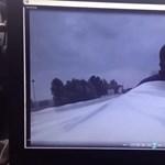 Migránsok másztak be az egyik legismertebb magyar kamionoshoz - videó