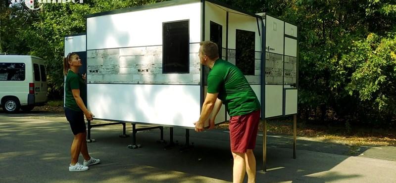 A sátor a múlté? Összecsukható kempingházat talált fel egy magyar