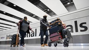 Hétfő hajnaltól él az Egyesült Királyságba utazók karanténkötelezettsége