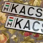 A nap hirdetése: 700 ezer forintot kérnek a KACSA-1 rendszámért