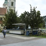 Ötször hétméteres kivetítőt húznak fel a Belvárosban az olimpiára