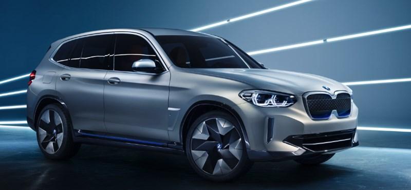 Itt a BMW iX3: villanymotoros új divatterepjáró, 400 kilométeres hatótávval