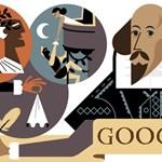Miért pont Shakespeare van ma a Google logója helyén?